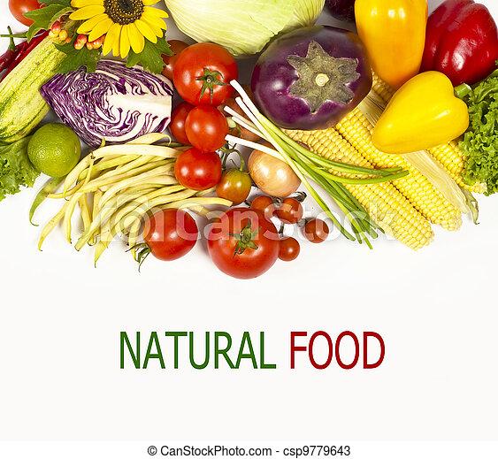 Green-stuff. Fresh vegetables - csp9779643