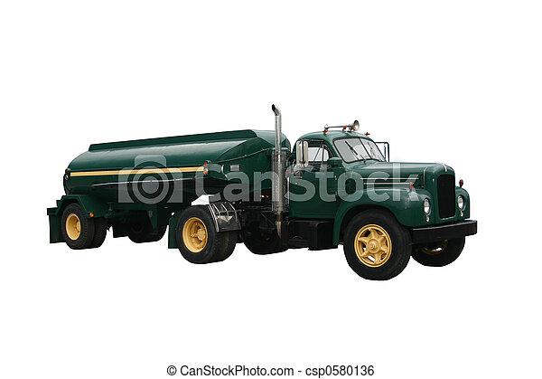 Green Tanker - csp0580136