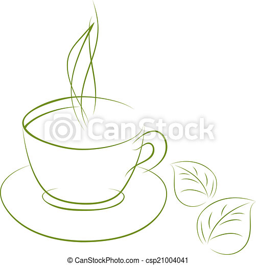 Green tea - csp21004041