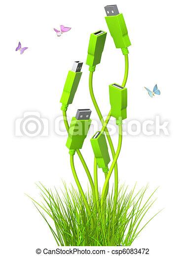 Green technology - csp6083472