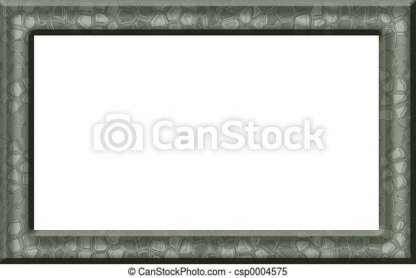 Green Texture Frame - csp0004575