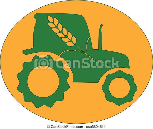 green tractor - csp5504614