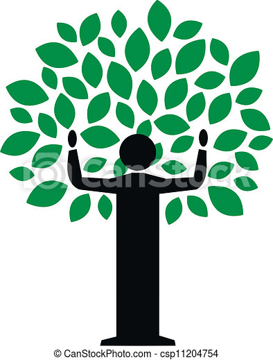 green tree - csp11204754
