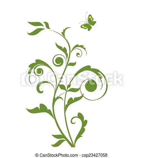 Green tree - csp23427058