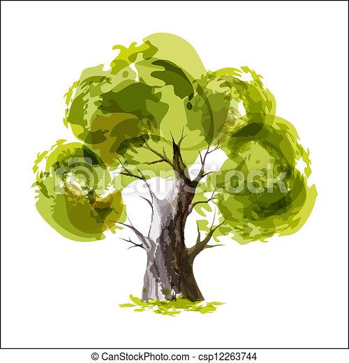 Green tree - csp12263744