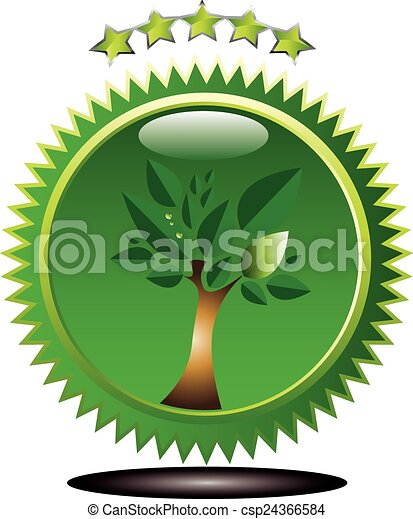 Green tree - csp24366584