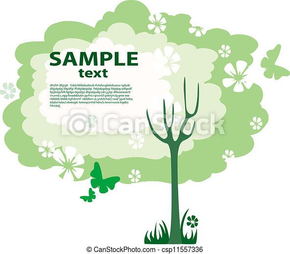Green tree - csp11557336