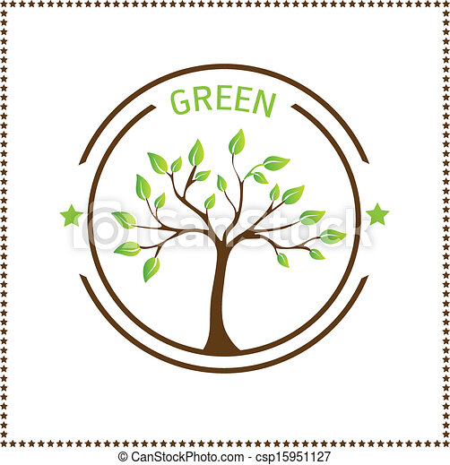 Green tree - csp15951127