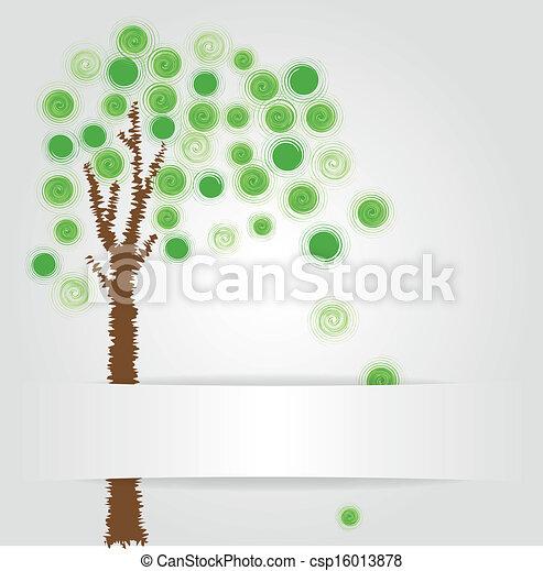 green tree - csp16013878