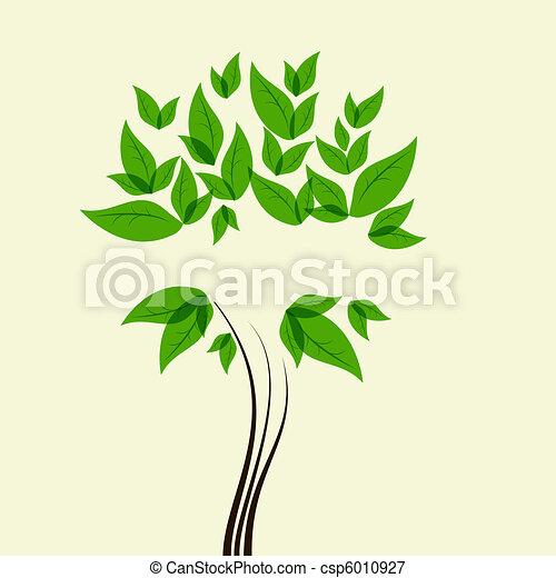 Green tree - csp6010927