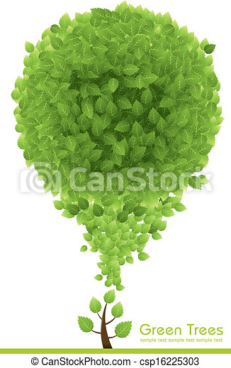 green Tree  - csp16225303