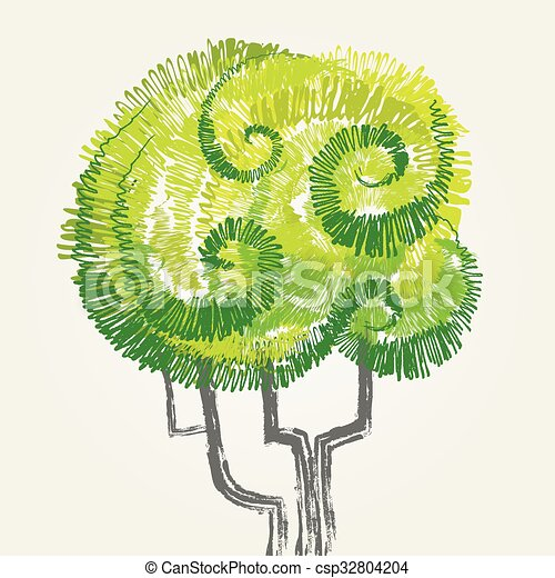 Green Tree - csp32804204