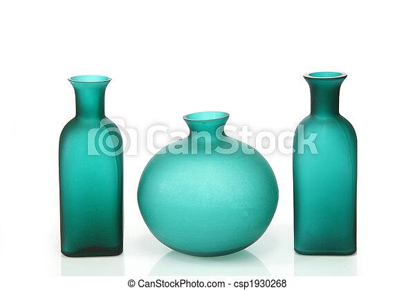 Green vases - csp1930268