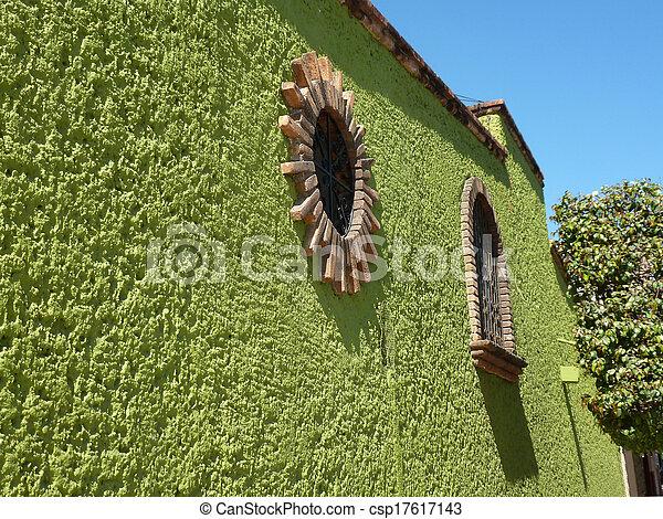 Green Wall - csp17617143