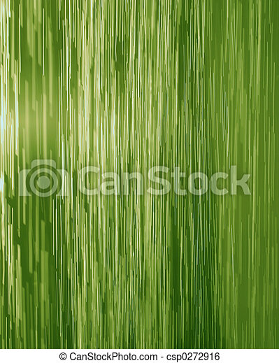 Green waterfall - csp0272916