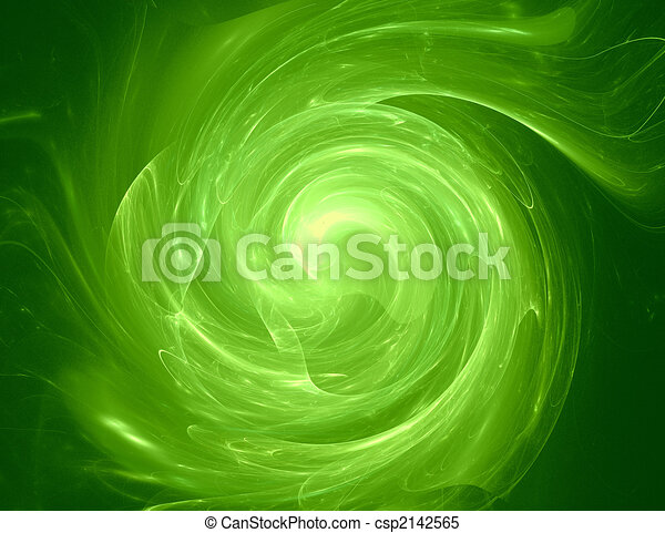 Green whirlpool - csp2142565