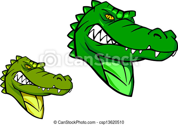 Green wild alligator - csp13620510