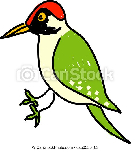 woodpecker stock illustrations 836 woodpecker clip art images and rh canstockphoto com woodpecker clipart free woodpecker clip art free