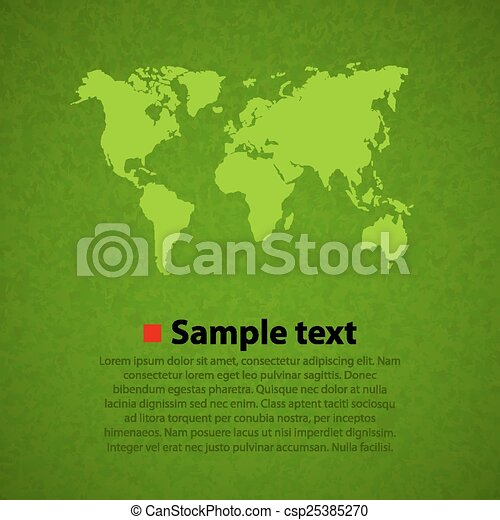 Green world map vector background globalization concept vectors green world map vector background gumiabroncs Choice Image