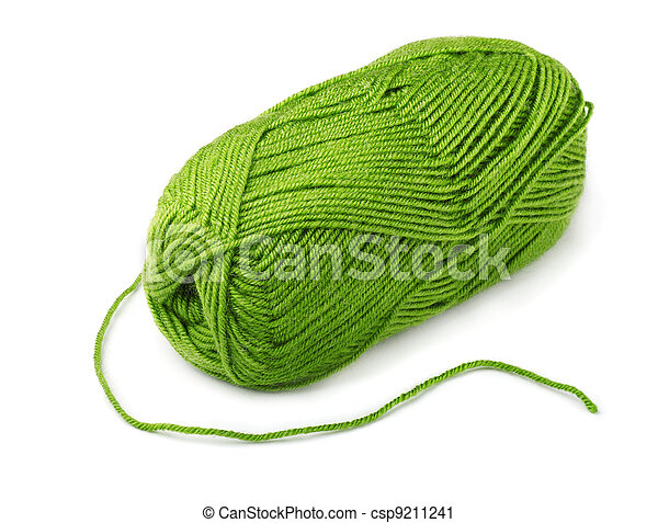 Green yarn - csp9211241