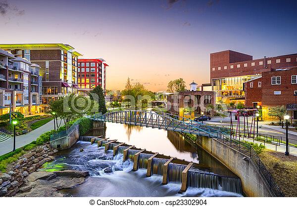 Greenville, South Carolina - csp23302904
