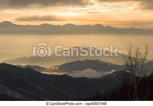 Greet the morning mountains greet the morning mountains csp40507448 m4hsunfo