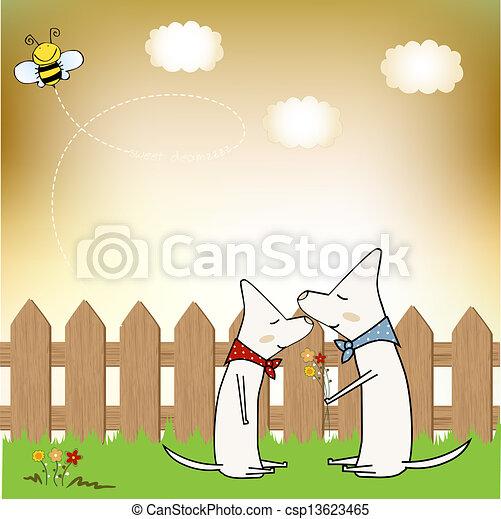 greeting card - csp13623465
