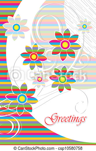 Greeting card - csp10580758