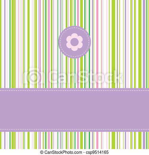 Greeting card - csp9514165