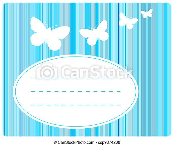 Greeting card - csp9874208