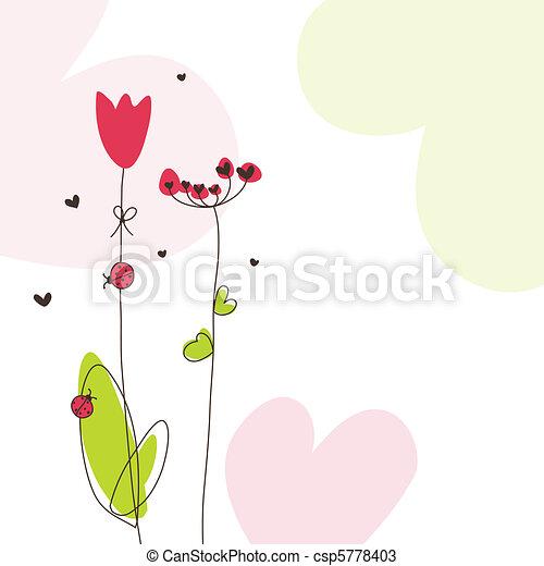 Greeting card - csp5778403