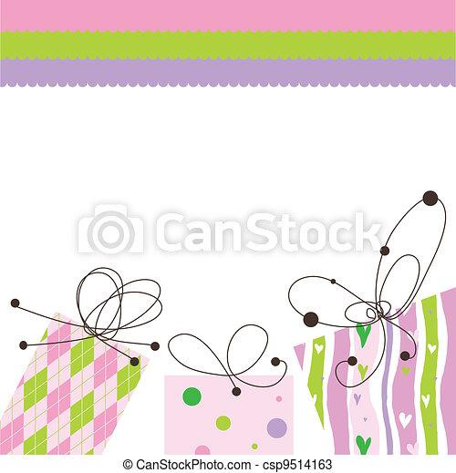 Greeting card - csp9514163