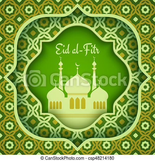 Great Different Eid Al-Fitr Greeting - greeting-card-for-eid-al-fitr-eps-vector_csp48214180  Pictures_662640 .jpg