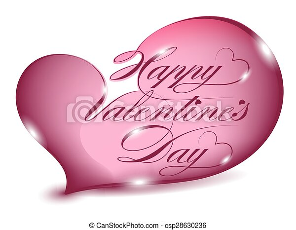 Greeting Card-Happy Valentines Day - csp28630236