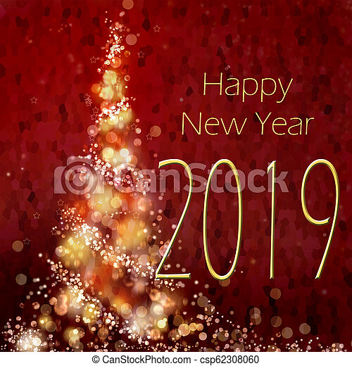 Happy New Year Greeting Card 31