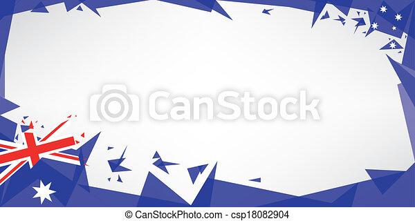 Greeting card origami of australia a greeting card with the theme greeting card origami of australia csp18082904 m4hsunfo