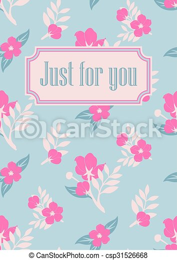 Greeting card template - csp31526668