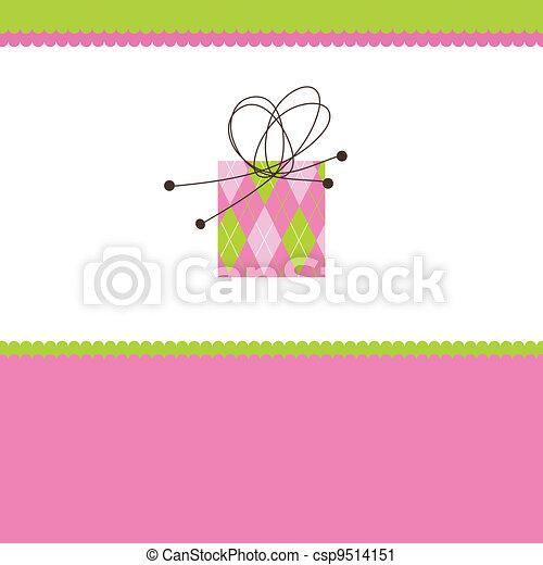 Greeting card - csp9514151
