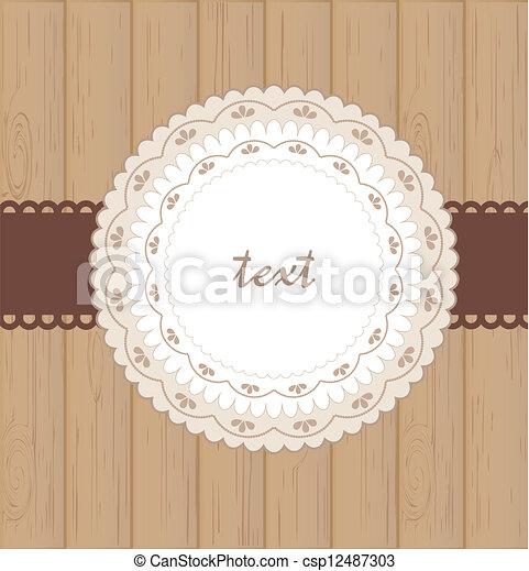 Greeting card - csp12487303