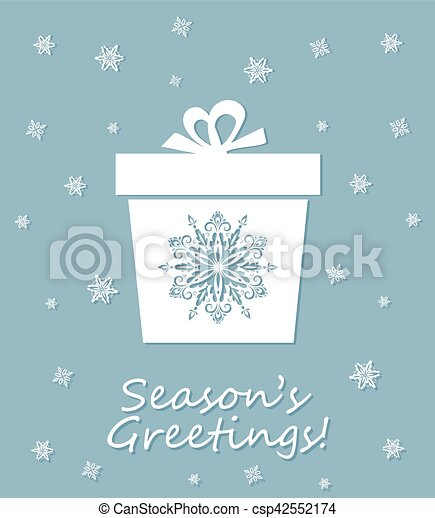 Greeting card with laser cut out decorative xmas snowflakes box greeting card with laser cut out decorative xmas snowflakes boxtemplate for christmas cards m4hsunfo