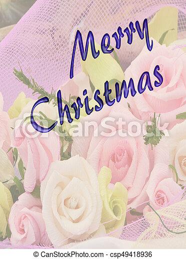 greeting for Christmas - csp49418936