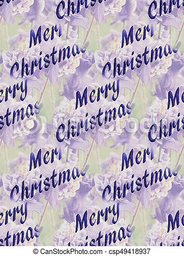 greeting for Christmas - csp49418937