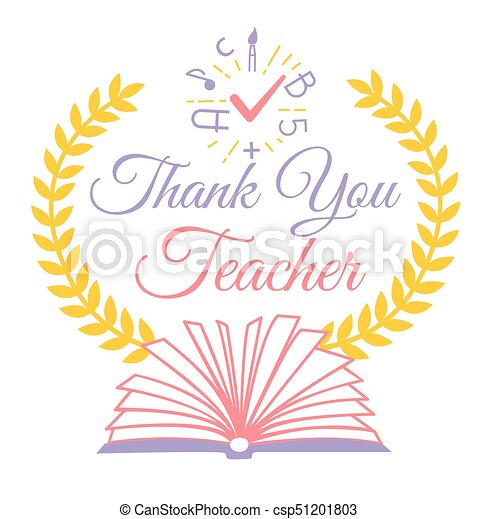 Greeting thank you teacher greeting card for the teachers greeting thank you teacher csp51201803 voltagebd Choice Image