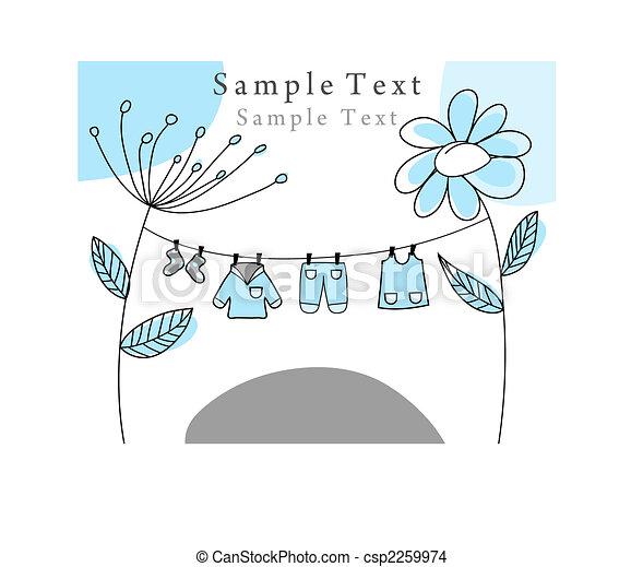 greetings card  - csp2259974