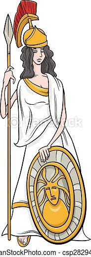 grekiska gudinnor lista