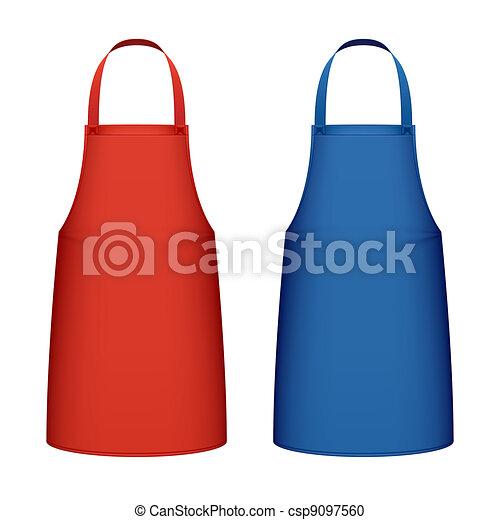 grembiule, cucina - csp9097560