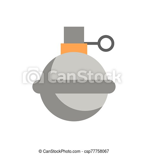 grenade military force isolated icon - csp77758067