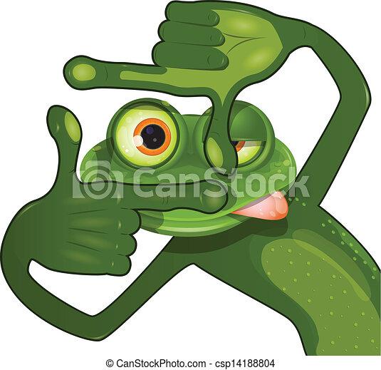 grenouille, créatif - csp14188804