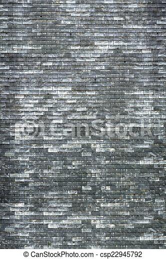 Grey Bricks Stock Photo