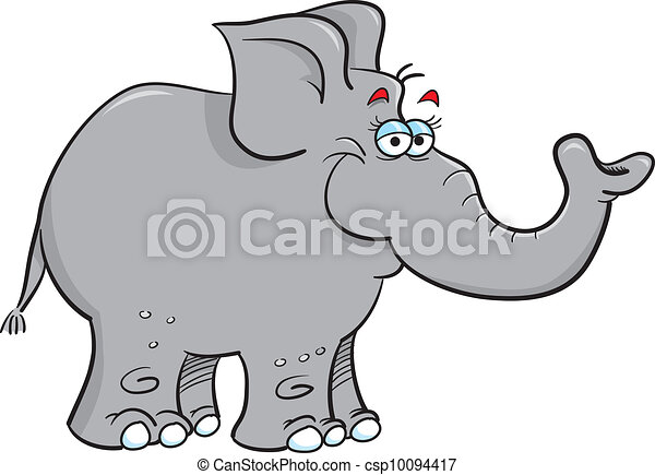 grey elephant - csp10094417